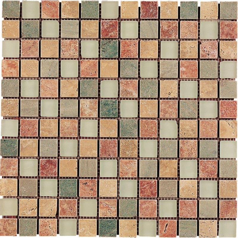 Quality mosaic tiles from Dream Tiles of Bicester in Mosaica Tundra