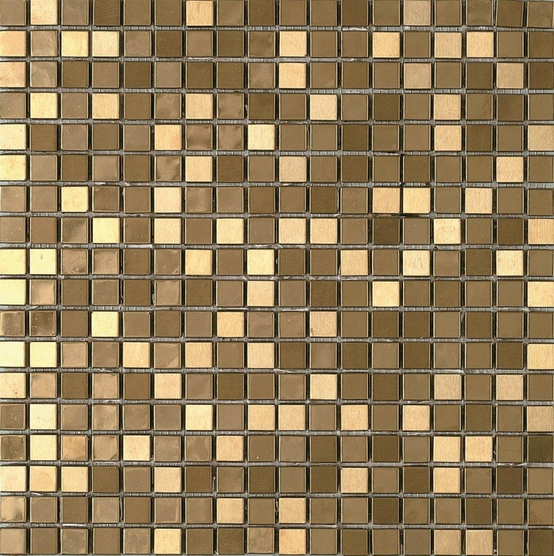 Quality mosaic tiles from Dream Tiles of Bicester in Metallic Gold