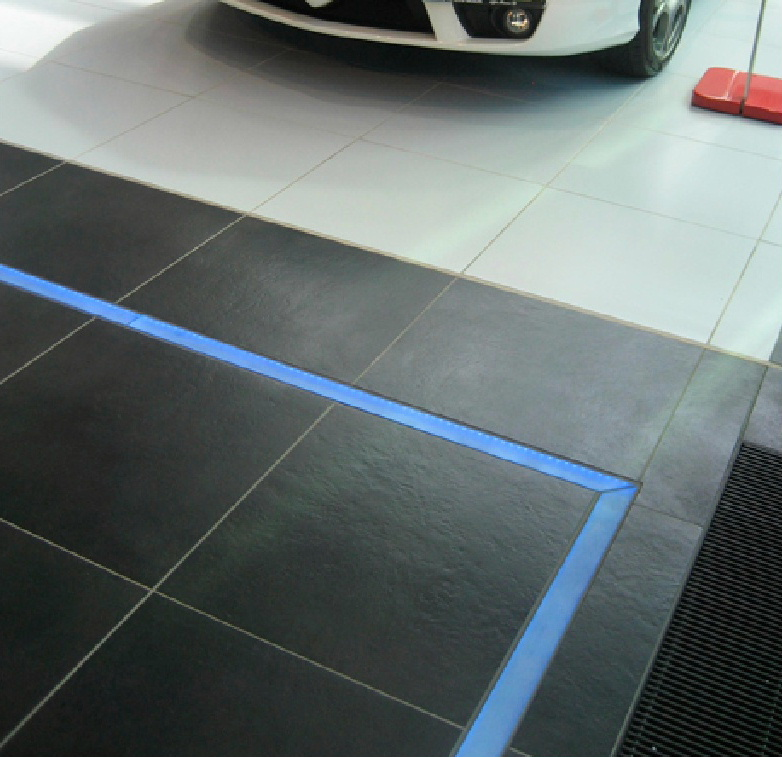 Architectural floor and wall tiles for showrooms from Dream Tiles of Bicester,Oxfordshire, call 01869357777