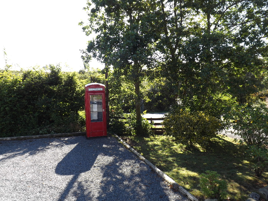 No mobile reception, no problem! We have our own payphone at Glentrool Camping and Caravan Site