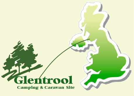 Glentrool Camping and Caravan Site our location