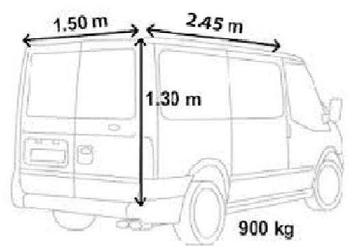ford transit short wheel base van hire dumfries t mac van hire. Black Bedroom Furniture Sets. Home Design Ideas