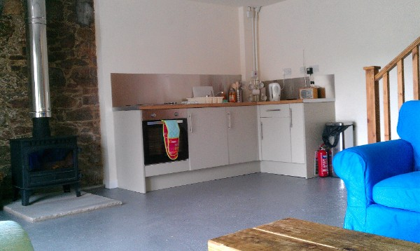 KItchen area Bothy 1