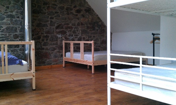 Sleeping area Bothy 1