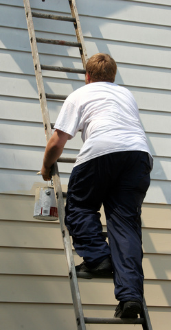 Ladder safety advice for homeowners