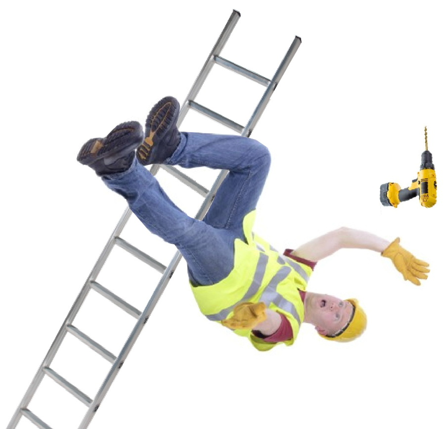 Construction site ladder accidents