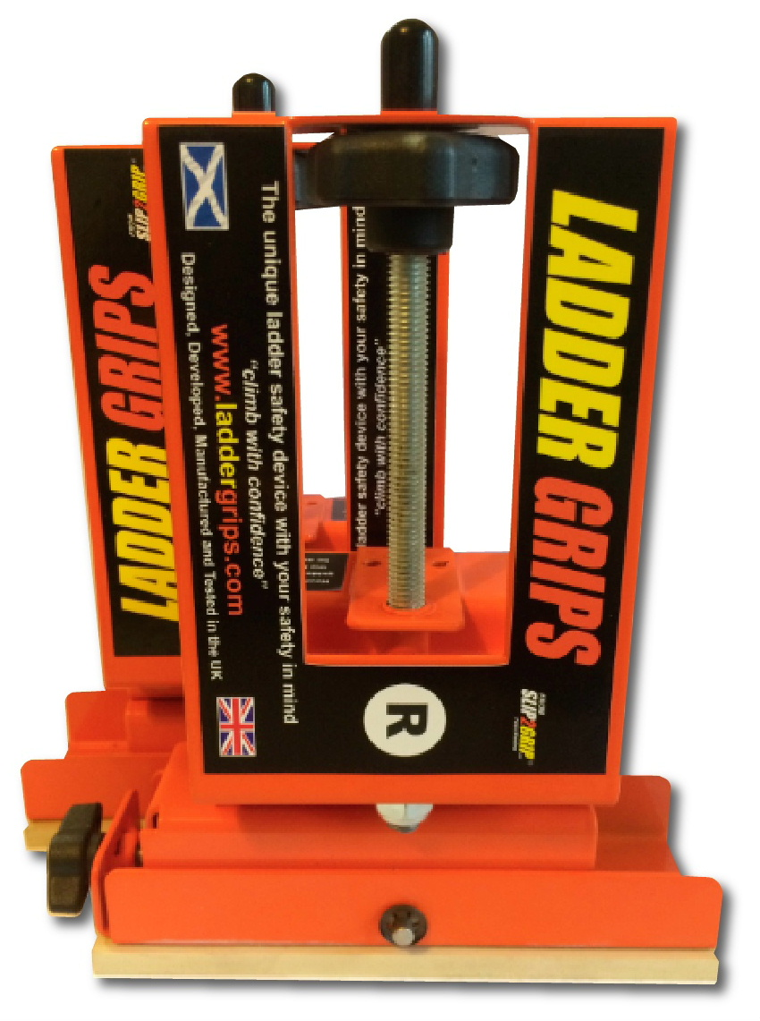 Ladder Grips are a revolutionary ladder safety device