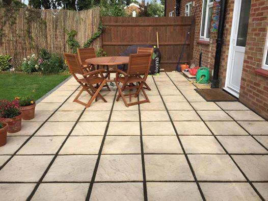 Large Patio's