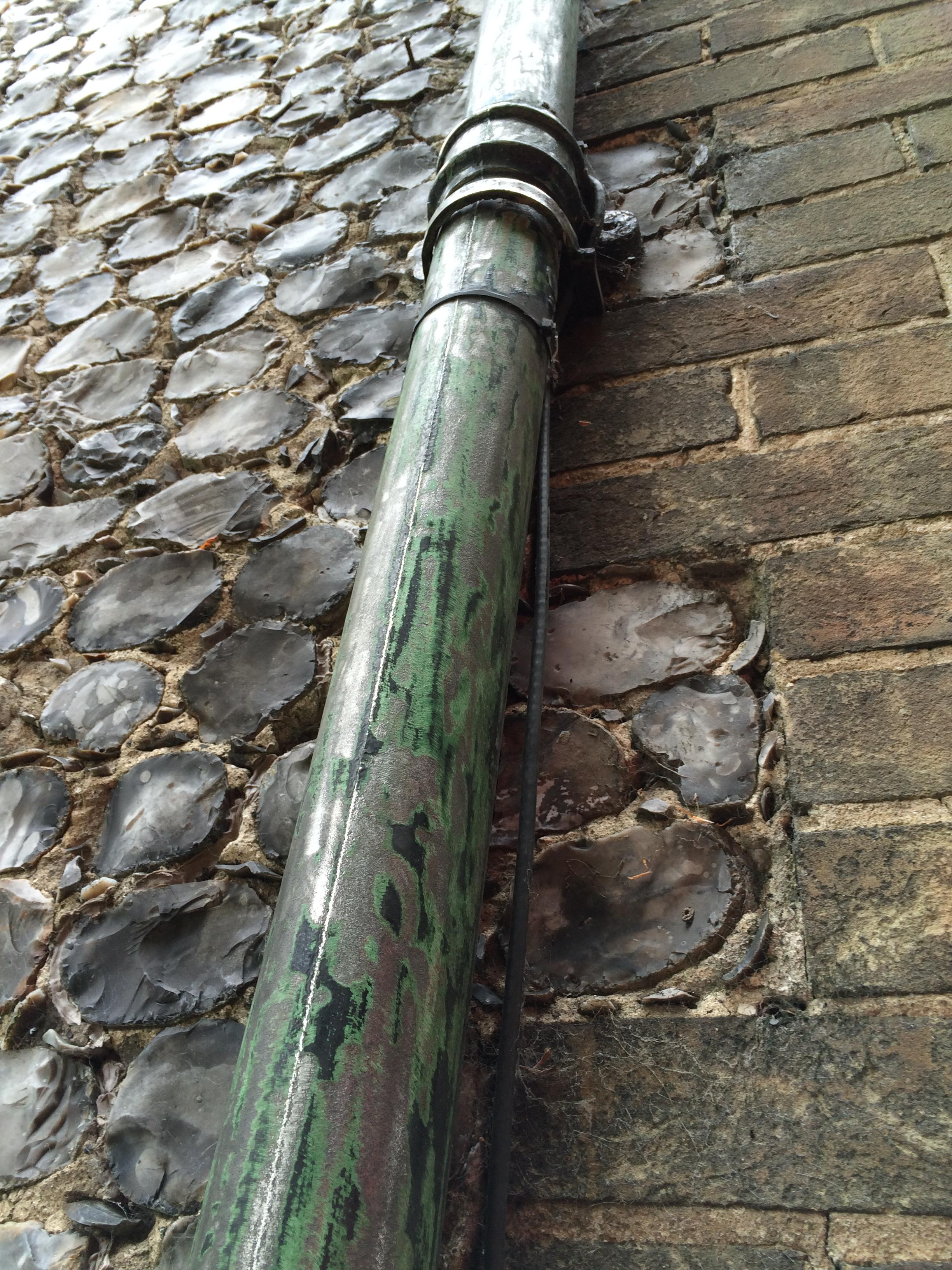 Refinishing - Cast Iron Gutters