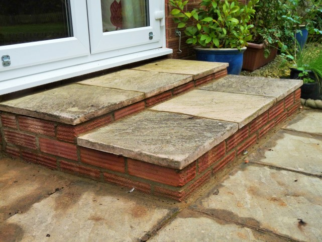 Brickwork Step