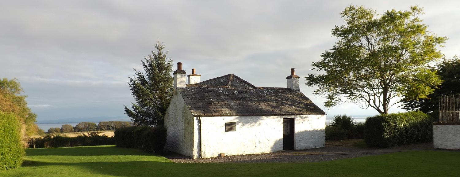 The birthplace of John Paul Jones at Arbigland near Kirkbean Scotland