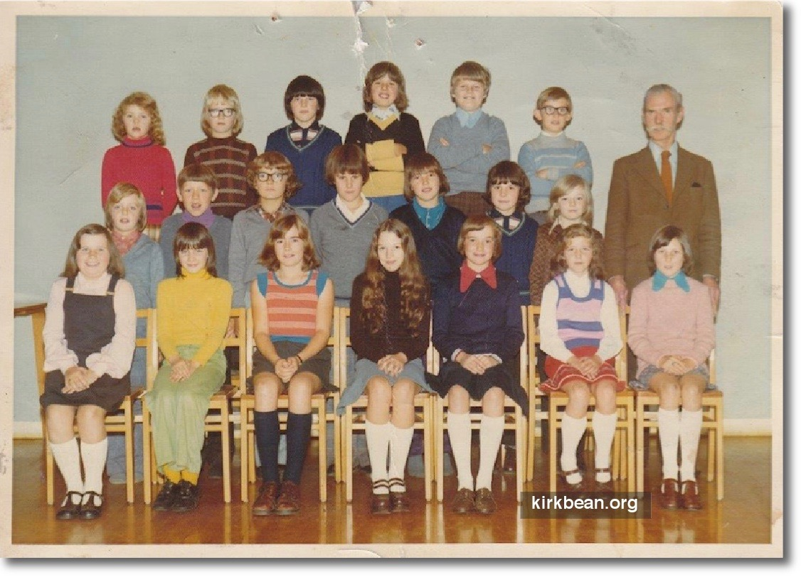 Kirkbean Primary School 1974-75
