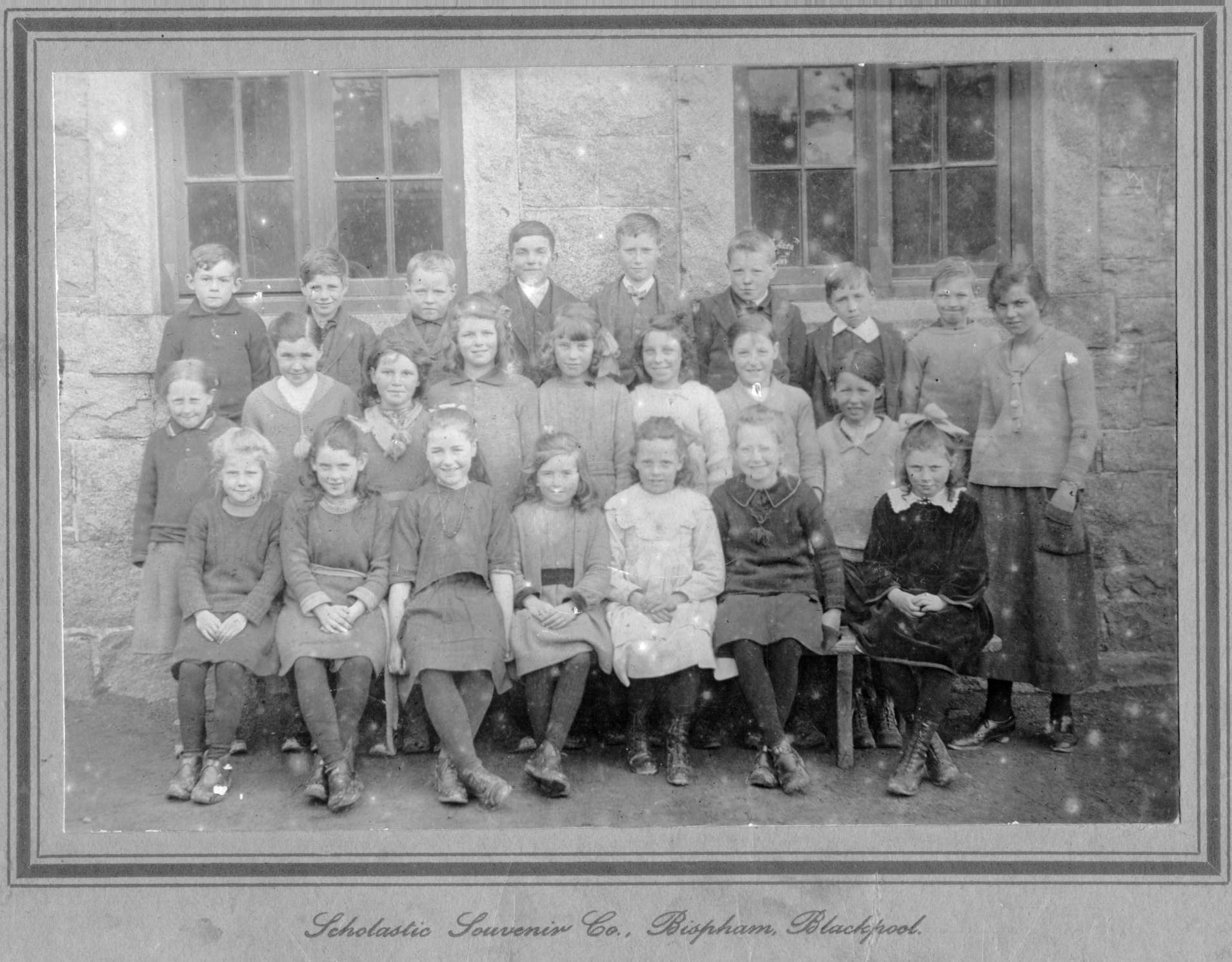 A very old school photo from Kirkbean