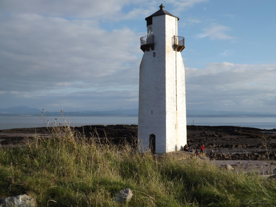 Southerness Lighthouse, Dumfries and Galloway, Scotland