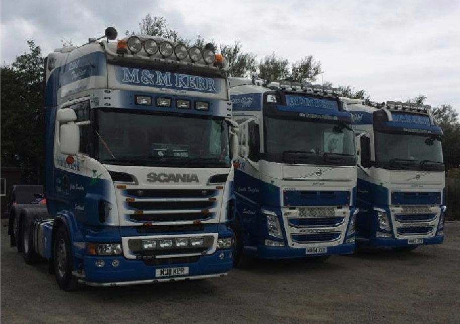 M & M Kerr Refrigerated Haulage Contractors
