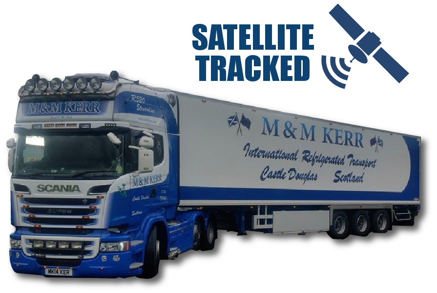 Refrigerated Transport M & M Kerr of Castle Douglas