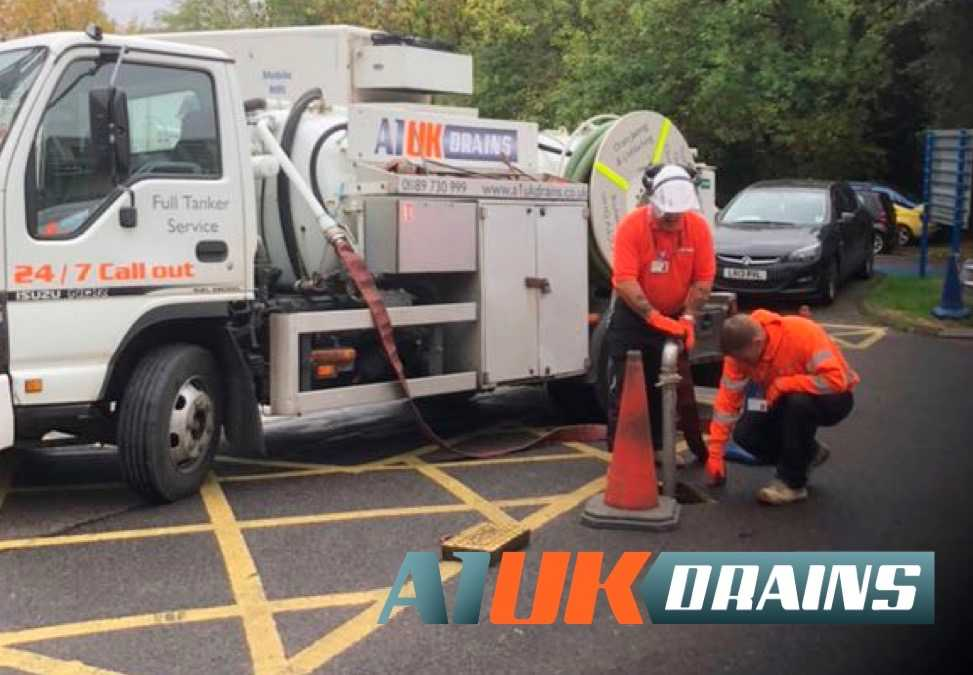 A1 UK Drains at Northwick Park Hospital, Harrow, North London