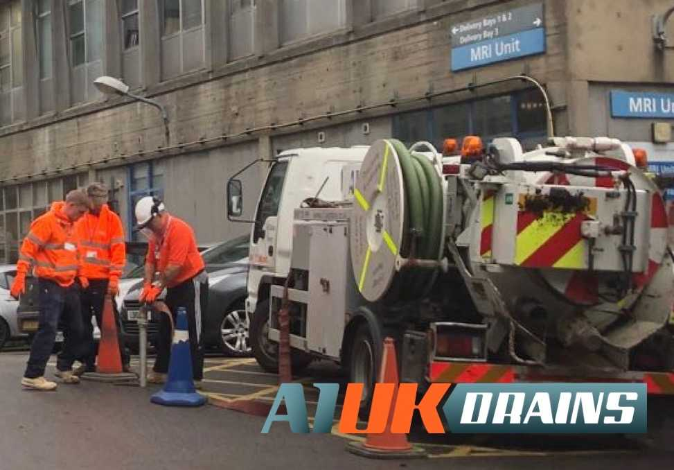 A1 UK Drains at Northwick Park Hospital