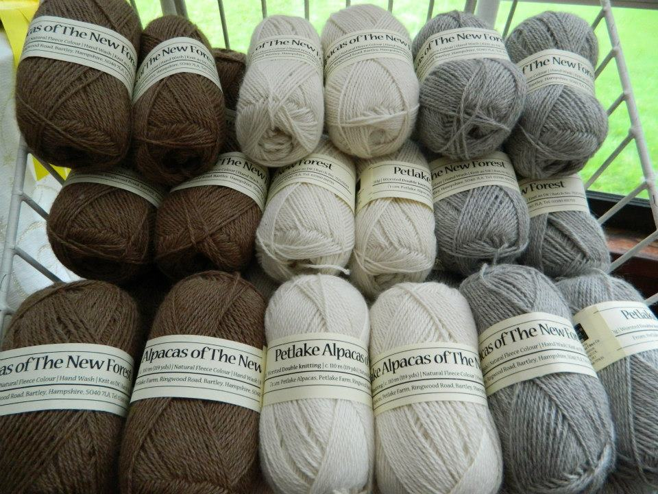 Alpaca Yarn - Double Knit