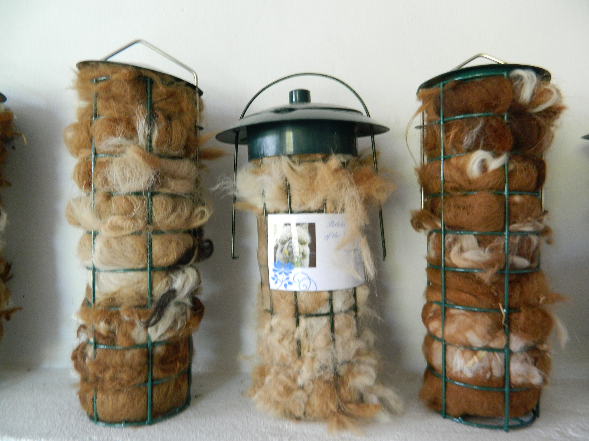 Alpaca Fleece for Bird Nests - Refill Pack