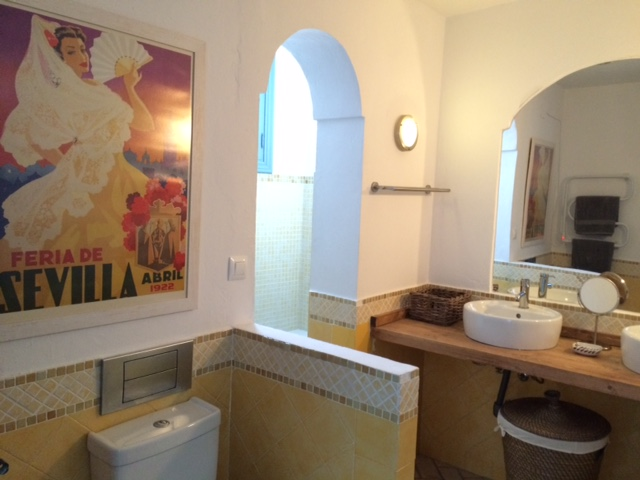 With full size bath and double sinks