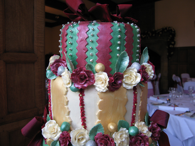 French wedding cake by Diane of Riccall