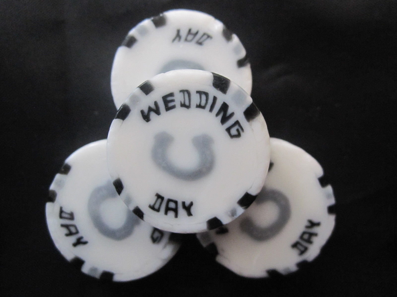Black & White Wedding Day Favours