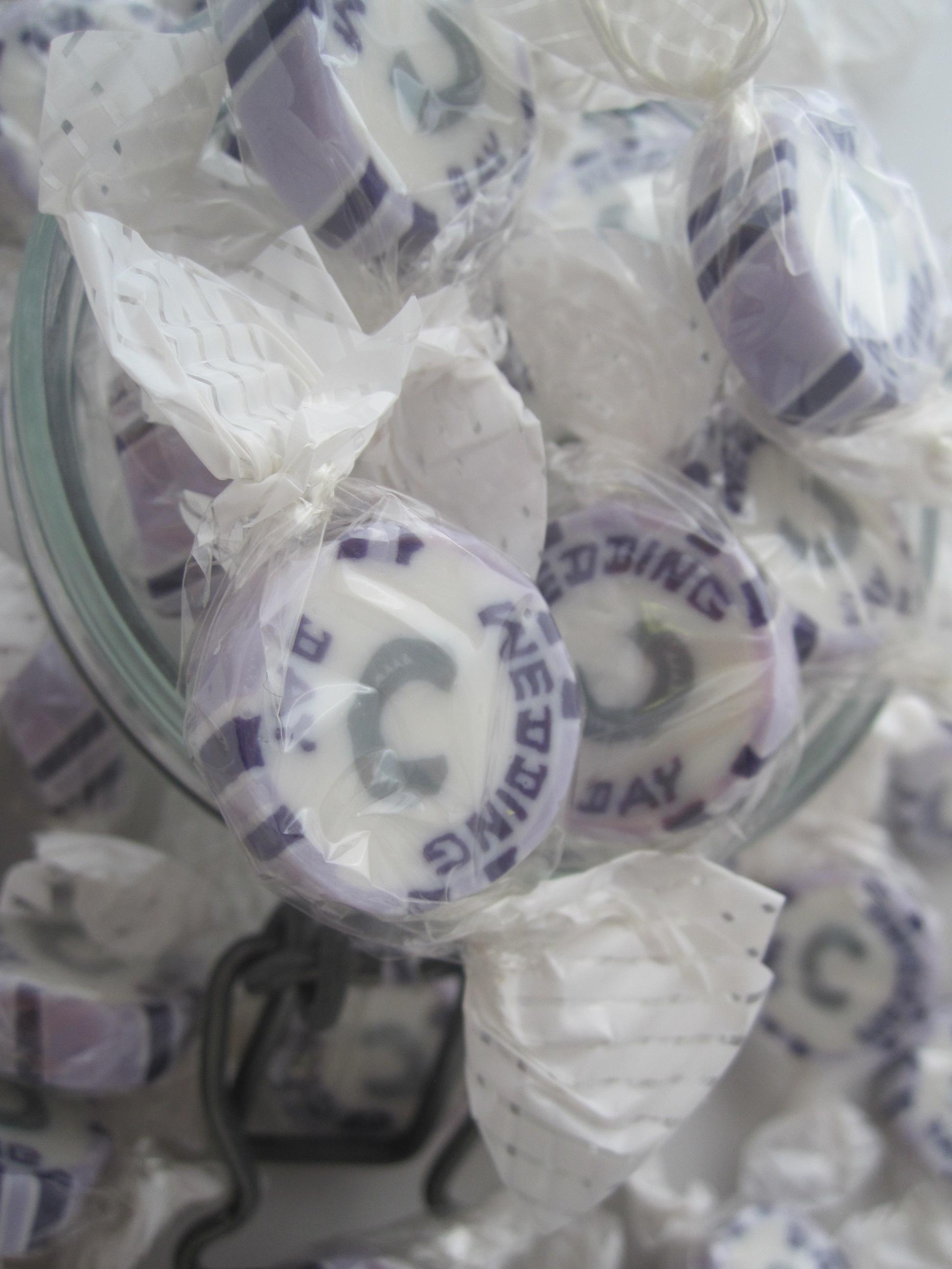 Lilac Wedding Day Favours
