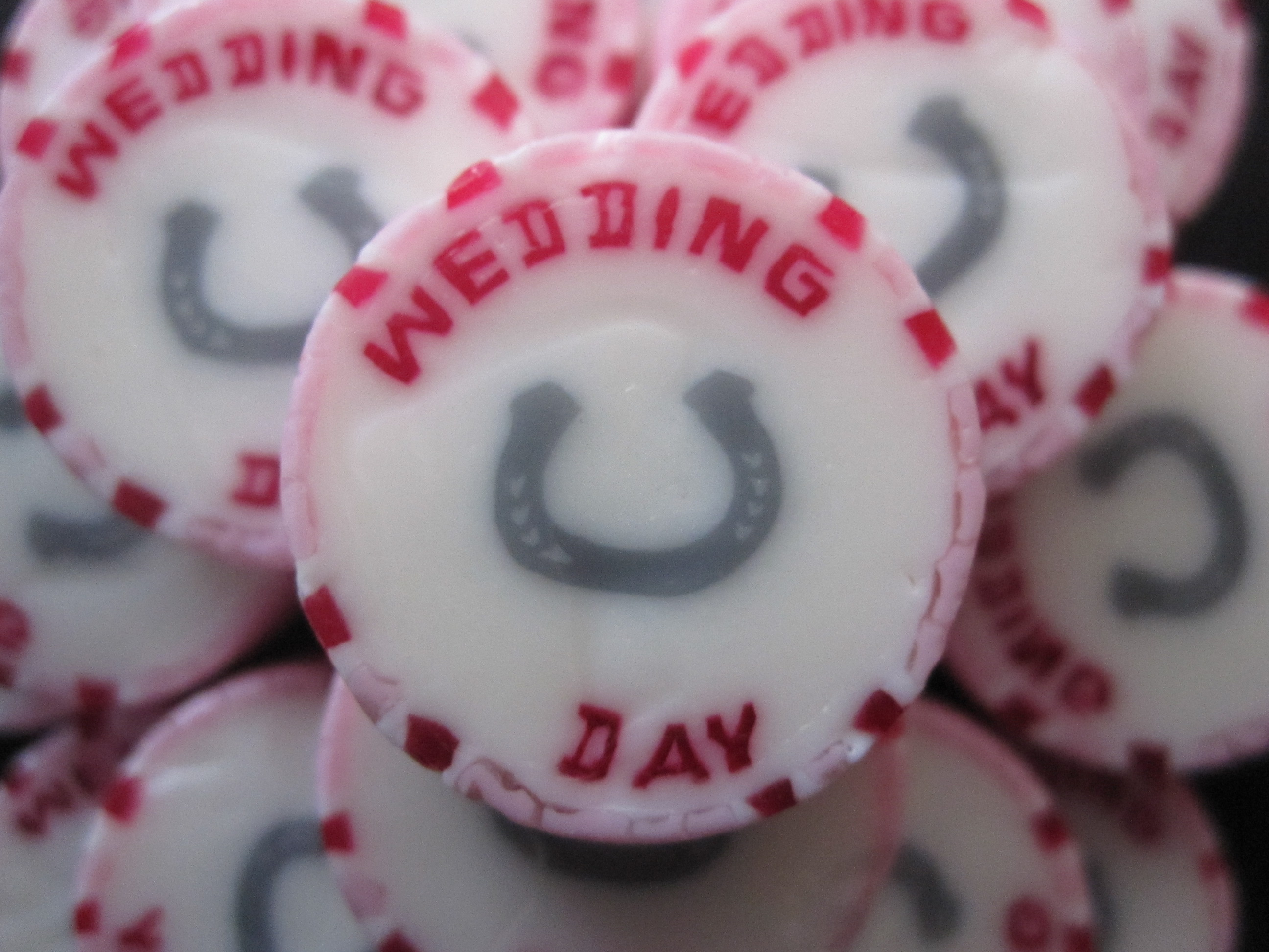 Pink Wedding Day Favours
