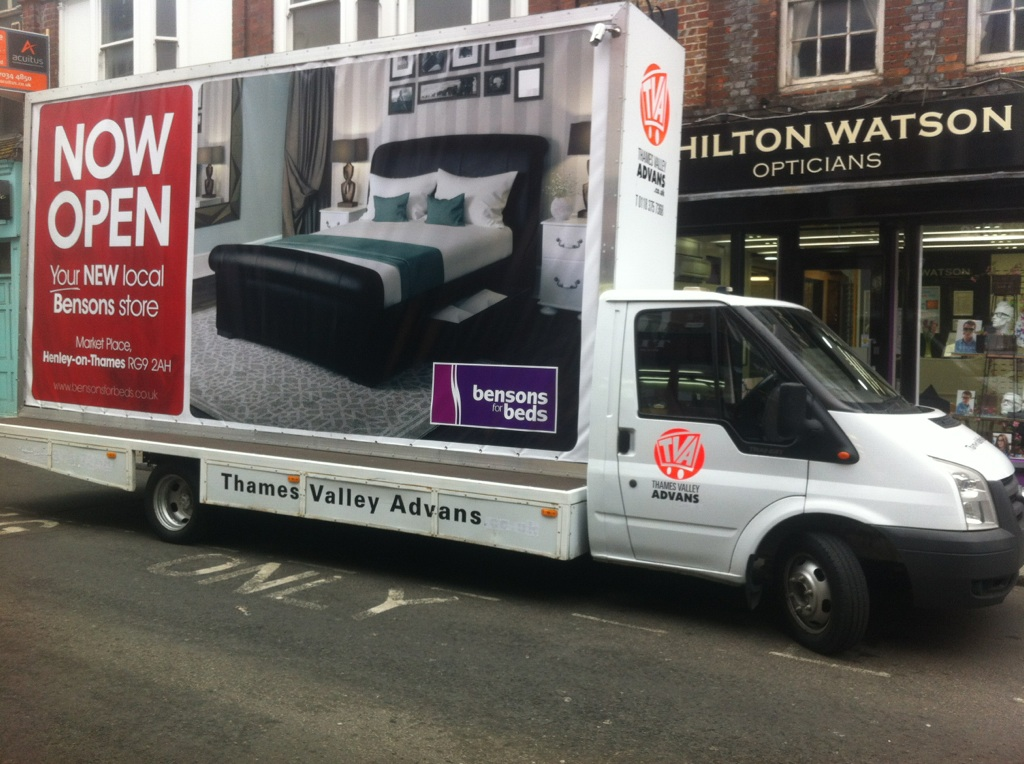 SouthWest AdVans in Henley on Thames