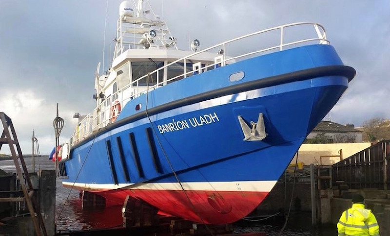 Work boat repair and maintenance services by Alexander Noble & Sons Marine Engineers Girvan Ayrshire