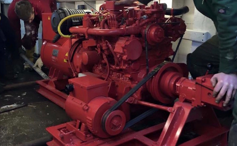 Marine engine refits by Alexander Noble & Sons Marine Engineers Girvan Ayrshire