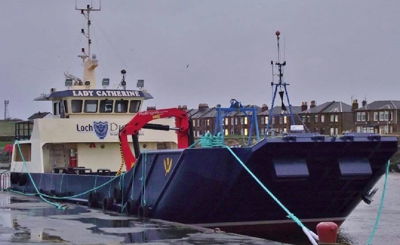 Workboat repairs and maintenance at Alexander Noble & Sons Marine Engineers Girvan Ayrshire
