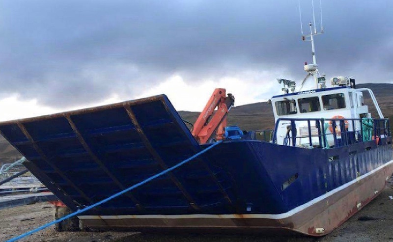 Work boat built by Alexander Noble & Sons Marine Engineers Girvan Ayrshire