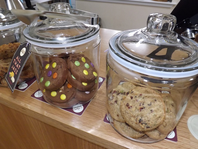 Cookies on sale at Storm in a Teacup cafe