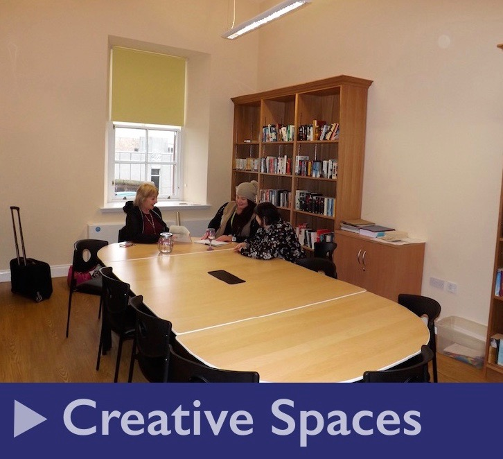 Hire our Creative Spaces suite for your meetings or training events
