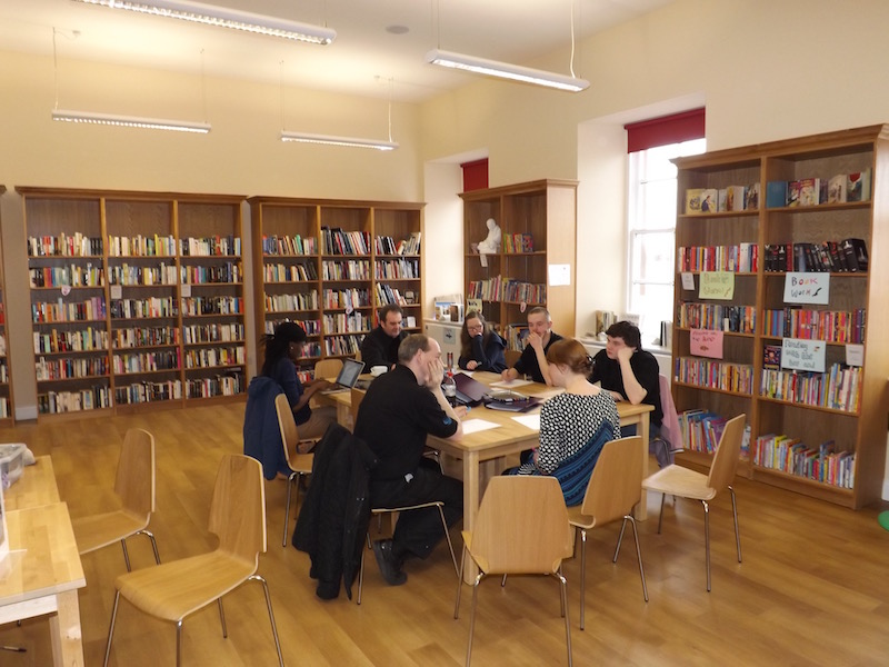 The Killie Browser Bookshop offers  a large modern and bright spaces for a range of activities including meetings, classes and training events