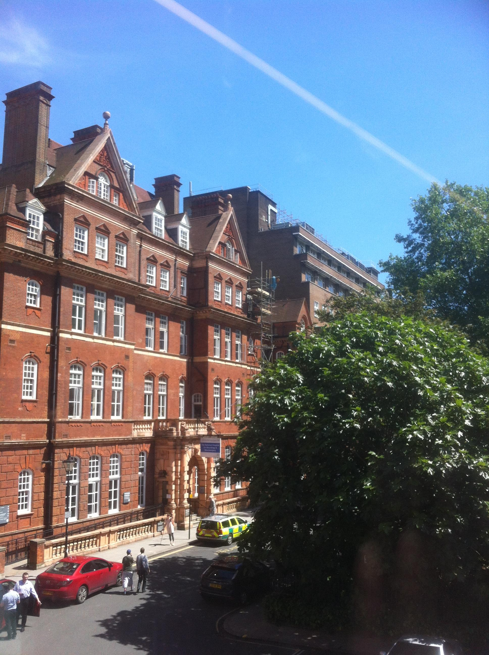 The National Hospital for Neurology & Neurosurgery in London's Queen Square