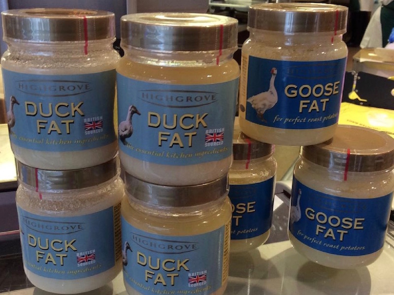 Duck and goose fat at John D Owen & Son Newton Stewart