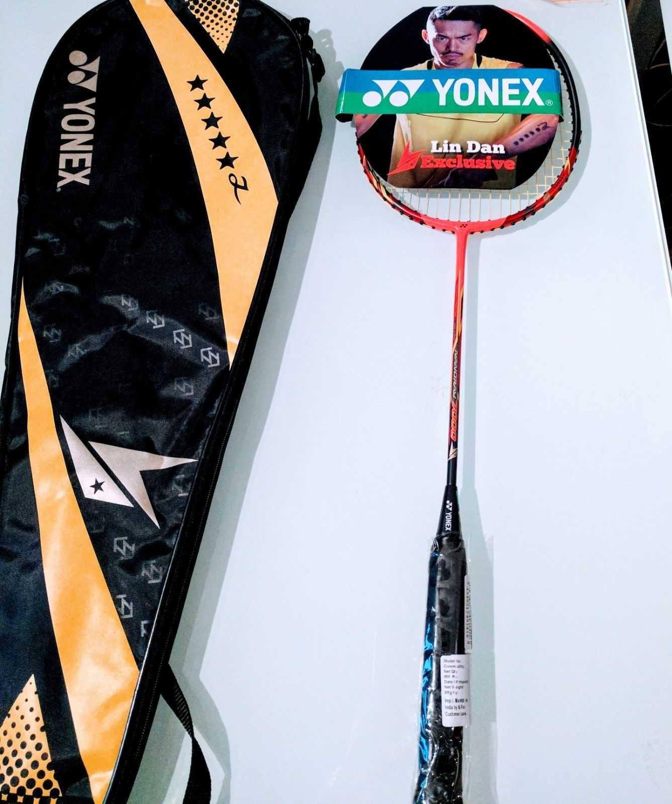 Yonex Nanoray 7000 Badminton Racket - Lin Dan Edition