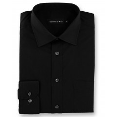black plain shirt