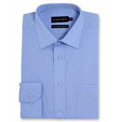 cornflower plain shirt