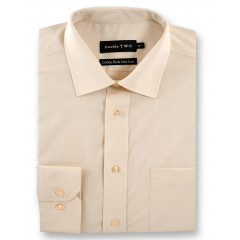 cream plain shirt
