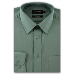 green plain shirt