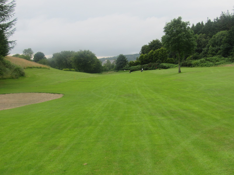 14th tee at Newton Stewart Golf Club