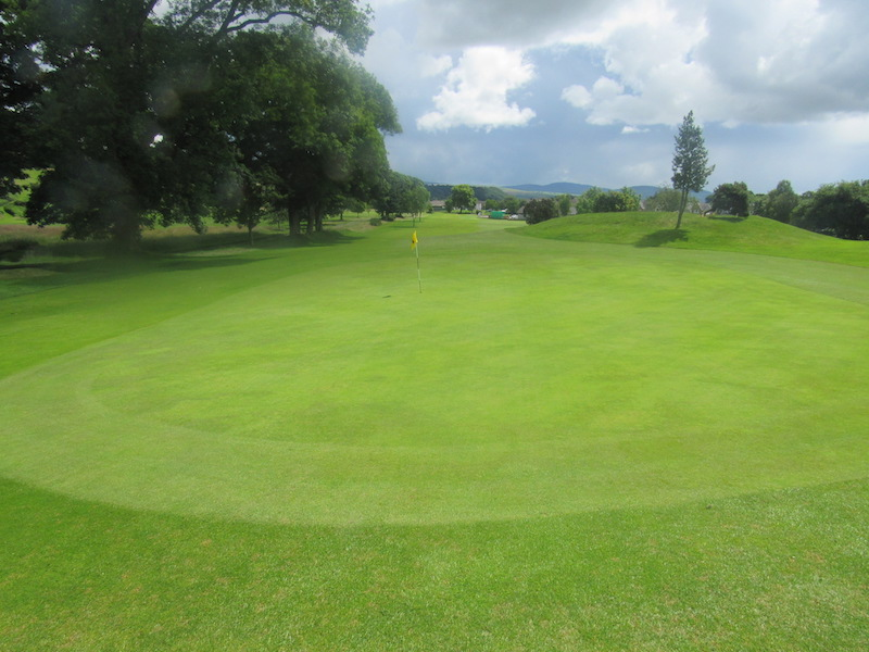 1st hole at Newton Stewart Golf Club
