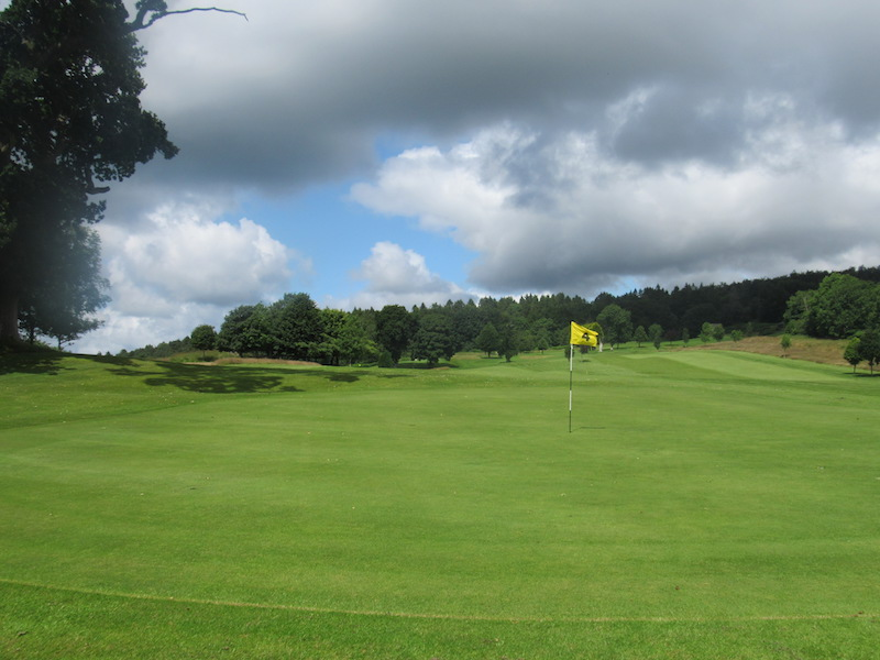 4th hole at Newton Stewart Golf Club