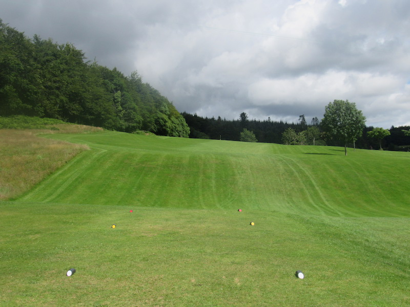 Fairway at the 7th Newton Stewart Golf Club