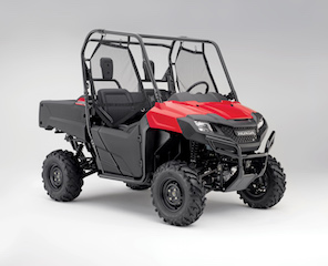 The brand new Honda Pioneer 700 range