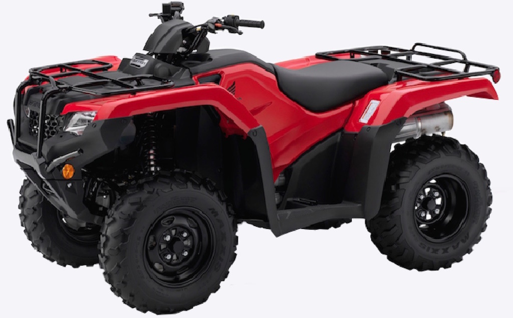 Honda utility Fourtrax 2/4wd TRX420FM1 available from Paterson ATV Dalbeattie, Dumfries and Galloway